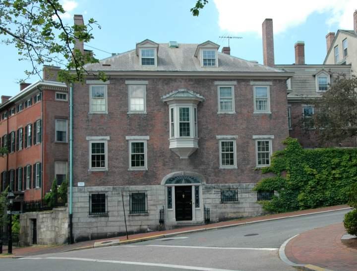 Eliza ward house 1814 benefit street providence rhode for Rhode island home builders