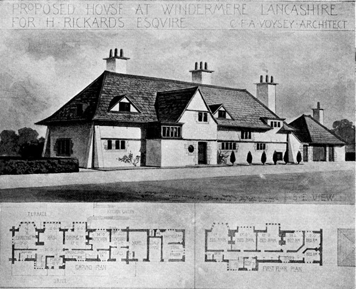 Proposed House at Windemere Lancashire for H. Rickards ...