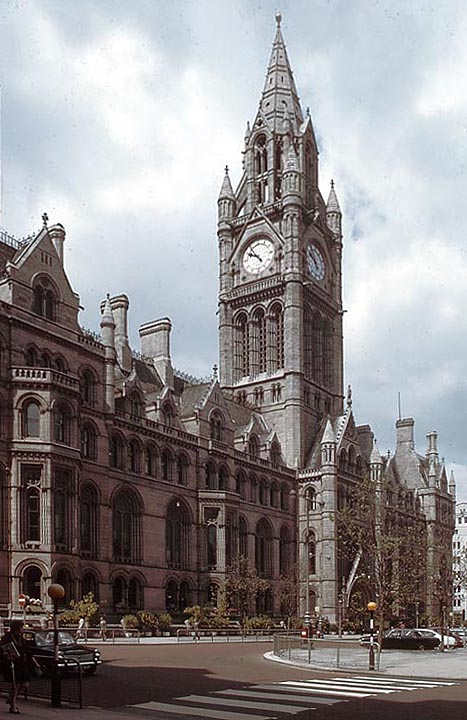 Victorian Architecture And Sculpture In Manchester