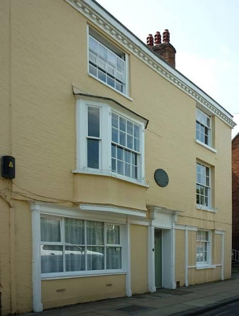 8 College Street Winchester Where Jane Austen Died