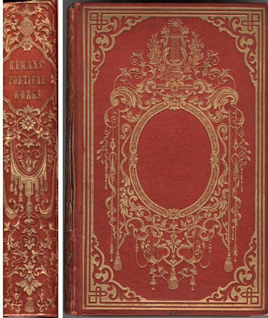 Vintage Style Book Cover : Victorian book design — bindings type and page