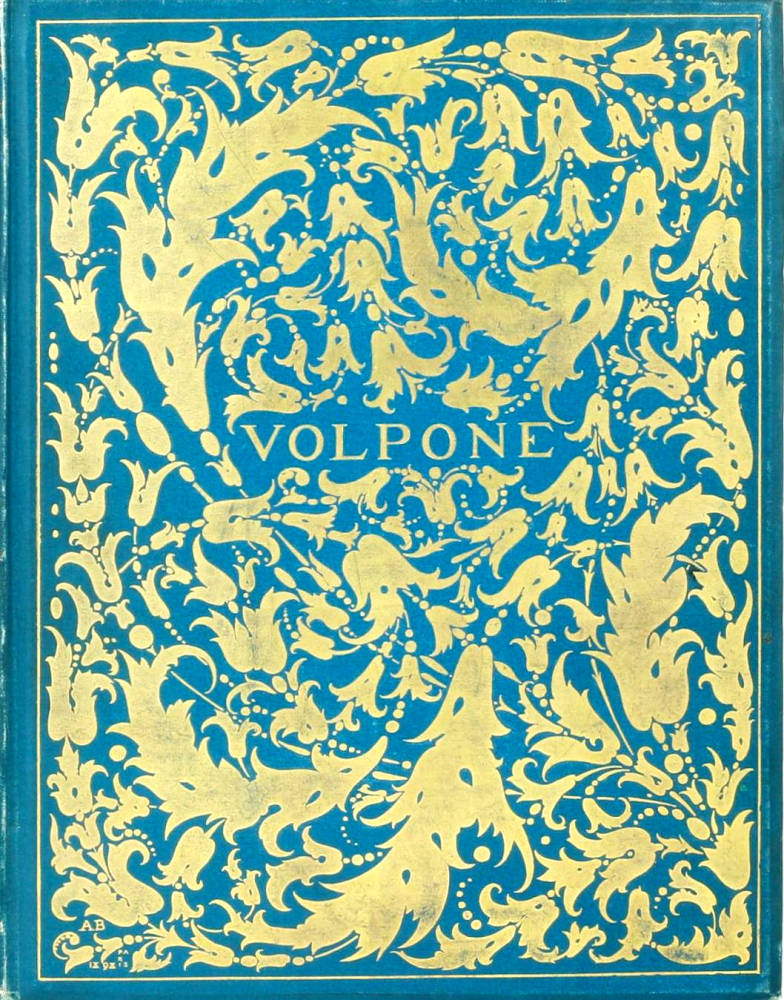 A Binding By Aubrey Beardsley For The Yellow Book