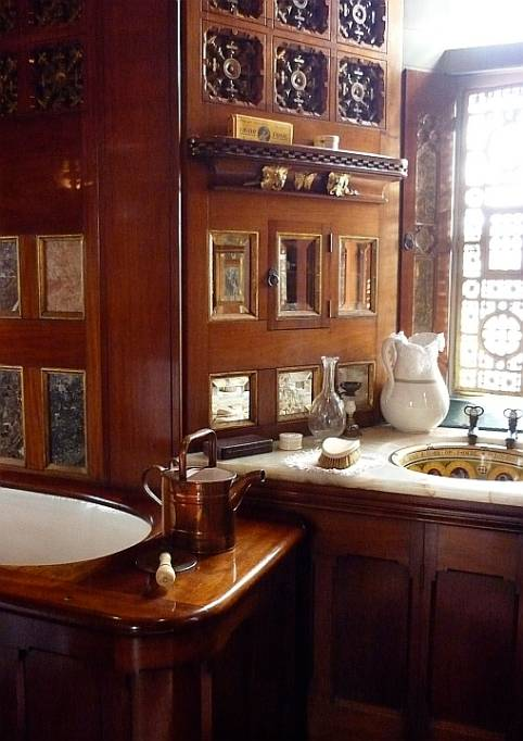 Lord bute 39 s bathroom cardiff castle by william burges Bathroom design service cardiff