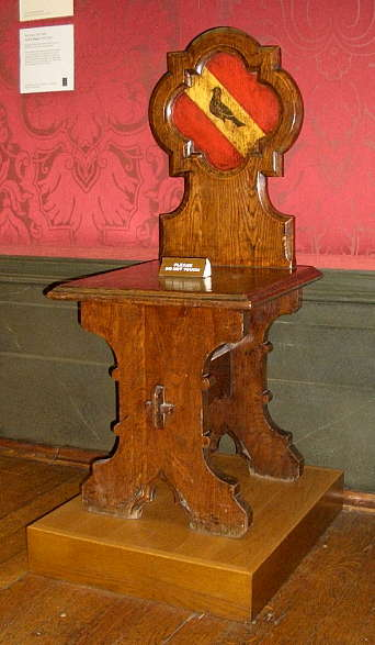 Hall Chair By Augustus Welby Pugin