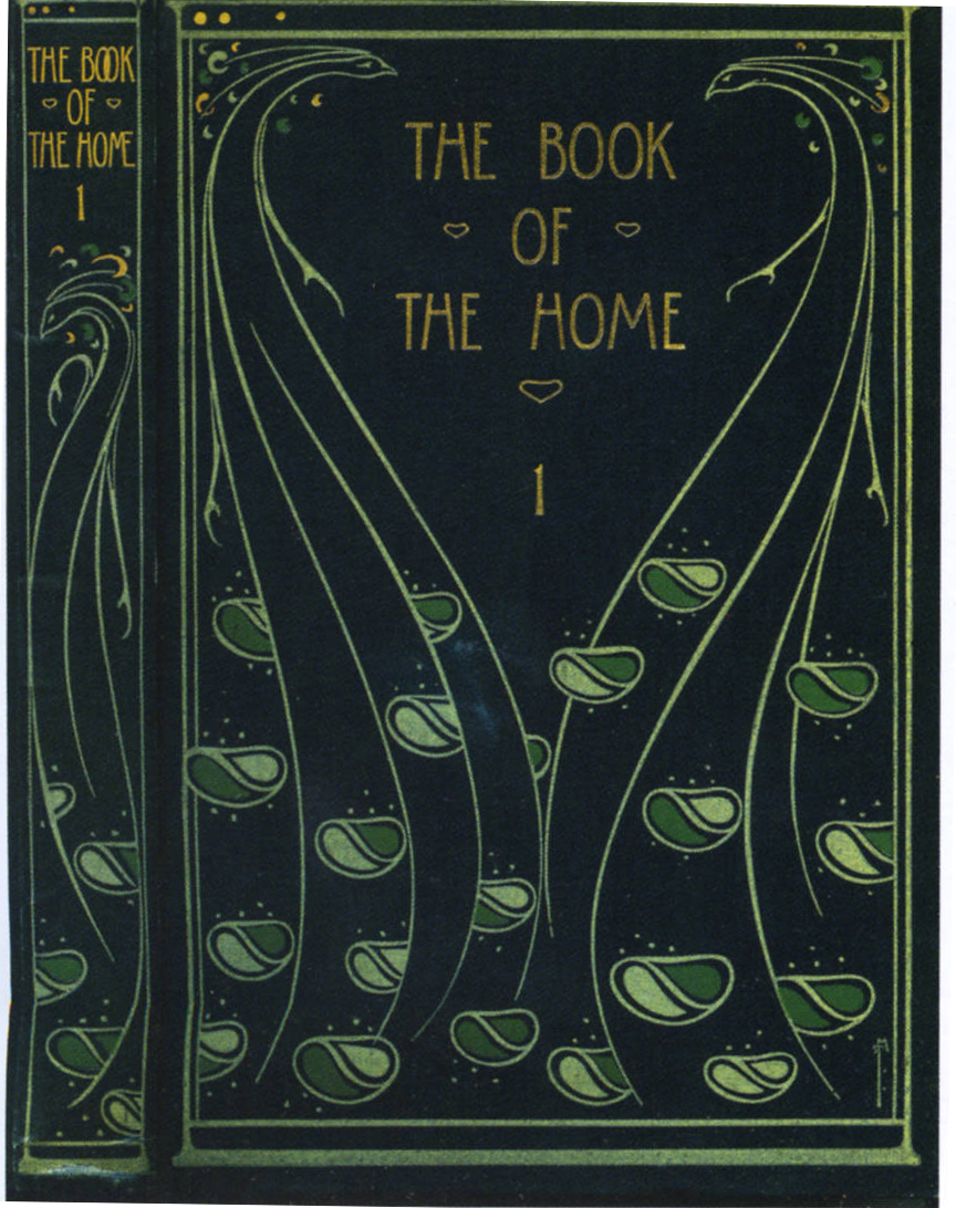 Book Cover Design Glasgow ~ Cover of h c davidson s quot the book home — binding