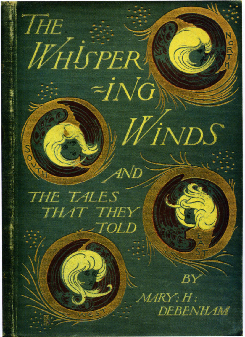 Book Cover Design Glasgow ~ Cover of mary c debenham s quot the whispering winds