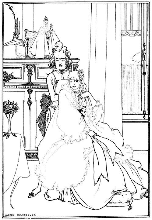 Beardsley Drawing Beardsley's Illustration