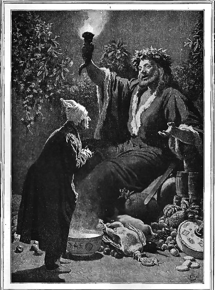 """""""The Second of the Three Spirits: 'A jolly giant, glorious to see'"""" — Green's thirteenth ..."""
