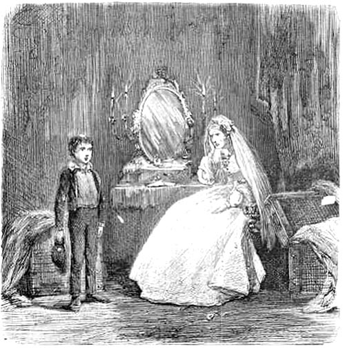 comparison of miss havisham and lady Miss havisham's dress: materialising dickens in film adaptations havisham and estella miss havisham and her place in history makes for an uncanny and flexible.