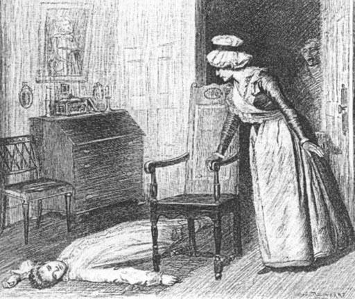 """Betty Lay On The Floor"" -- Charles S. Reinhart's"