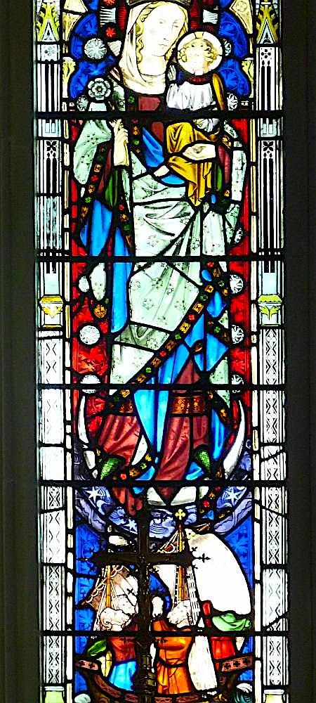 Stained Glass In Our Ladye Star Of The Sea Greenwich By