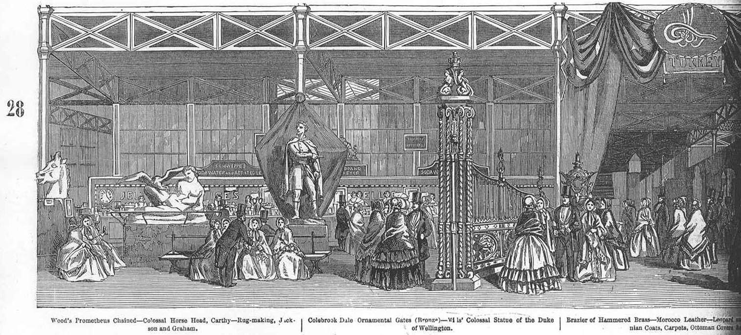 Grand Panorama Of The Great Exhibition