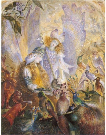 Victorian Fairy Painting