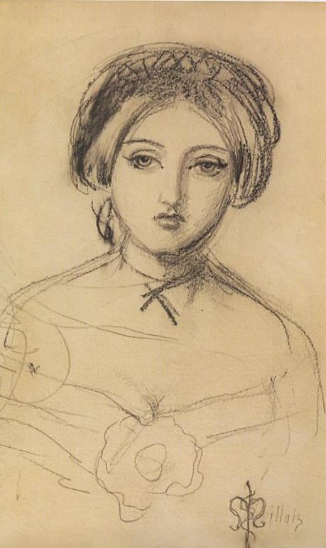 By J.E. Millais Effie Gray