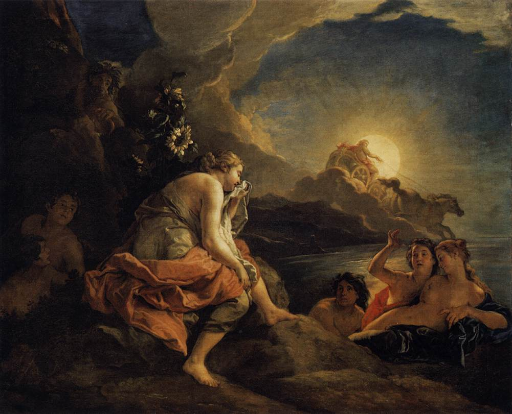 Greek Mythology Paintings (museums in Venice and Naples, Italy)